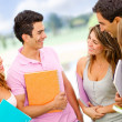 Friendly group of students — Stockfoto #9086355