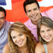British group — Stock Photo