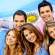 Argentinean group — Stock Photo