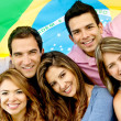 Brazilian group — Stock Photo