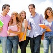 Group of students — Stock Photo #9086429