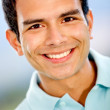 Casual man smiling - Foto Stock