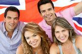 British group — Stock Photo