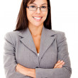 Royalty-Free Stock Photo: Business woman smiling
