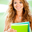 Stock Photo: Beautiful female student
