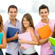 Group of students — Stock Photo #9151778