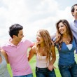 Friends having fun — Stock Photo #9151809