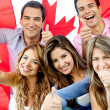Young in Canada — Stock Photo