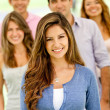 Group of young — Stock Photo #9162554