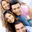 Group of friends having fun — Stock Photo #9162555