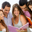 Group of students — Stock Photo #9162558