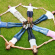 Circle of friends — Stock Photo #9162564