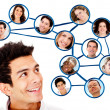 Social network — Stock Photo #9162566