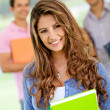 Stock Photo: Friendly female student