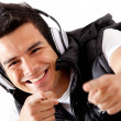 Male DJ — Stock Photo