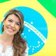 Woman from Brazil — Stock fotografie #9183215