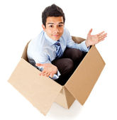 Frustrated delivery — Stock Photo