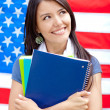 English female student — Stock Photo #9224045