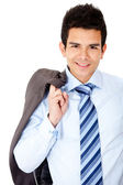 Handsome business man — Stock Photo