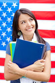 English female student — Stock Photo