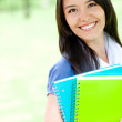 Young female student — Stock Photo #9257528