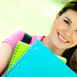 Woman education portrait — Stock Photo