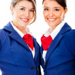 Flight attendants — Stock Photo #9297852