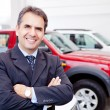 Car dealer — Stock Photo #9377528
