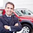 Foto Stock: Car dealer