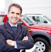 Car dealer — Stock Photo
