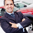 Man buying a car — Stock Photo #9415633