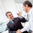 Man buying a car — Stock Photo