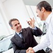 Stock Photo: Man buying a car