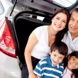 Family buying a car — Stock Photo #9469344