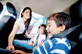 Samochód bezpieczeństwa — Zdjęcie stockowe