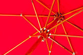 Red parasol — Stock Photo