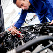 Man fixing a car — Stock Photo #9525506
