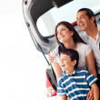 Royalty-Free Stock Photo: Family car