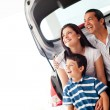 Foto Stock: Family car