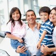Family buying a car — Stock Photo #9525552