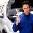 Car mechanic — Stock Photo #9557665