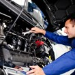 Car mechanic - Stockfoto