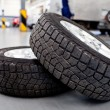 Car tires — Stock Photo #9557671