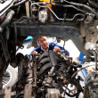 Car at mechanic — Stock Photo #9557674