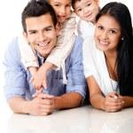 Beautiful family portrait — Stock Photo