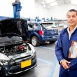 Foto Stock: Car mechanic