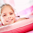 Lovely girl in her room — Stock Photo #9658074