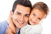 Padre e figlia — Foto Stock
