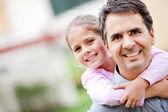 Baba ve kızı — Stok fotoğraf