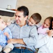 Family smiling — Stock Photo #9677775